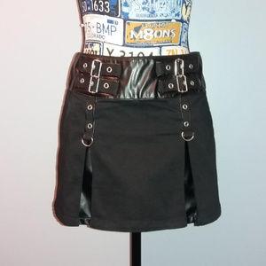 Tripp NYC Daang Goodman Pleated Bondage Skirt